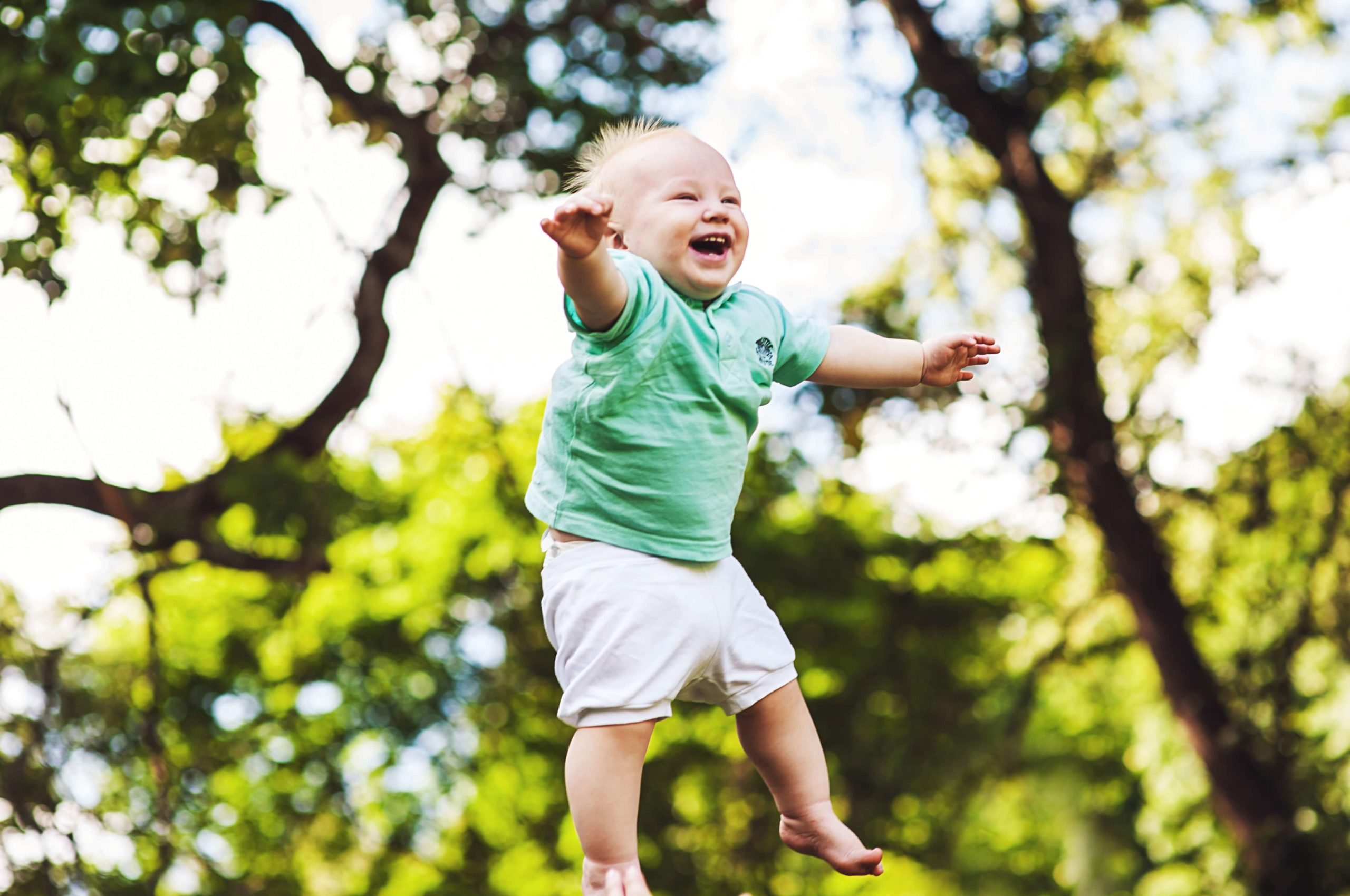 When Do Babies Start to Laugh;different Ways to Make Your Baby Laugh